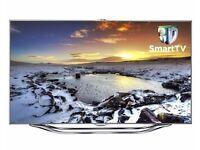"Samsung 8 Series UE40ES8000 - 40"" 3D LED Smart TV - 1080p - 200 Hz + 2 pairs of 3D glasses"