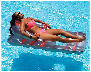 Miraculous Swimline Swimming Pool Inflatable Lounger Floating Lounge Chair Ocoug Best Dining Table And Chair Ideas Images Ocougorg