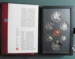 Canada Double Dollar Proof silver coin sets