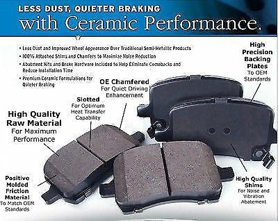 Semi Metallic Vs Ceramic Brake Pads Ebay