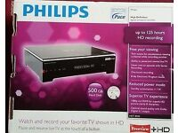 Philips HDT8520 500 GB Freeview+HD box