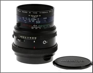 Mamiya 140mm Macro Lens for RB67 and RZ67