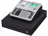 Casio cash register Se - S400 model with hand held bar code scanner in very good condition
