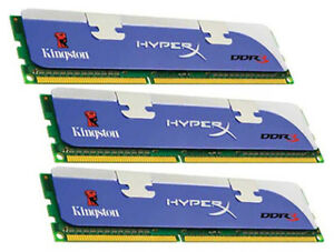 Kingston 8GB(4x2) DIMM 1600 MHz DDR3 SDRAM