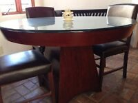Pier 1 dining table and chairs