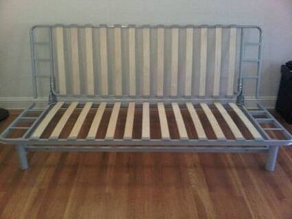 BEDDINGE LÖVÅS IKEA 3 SEAT SOFA BED FRAME FREE STORAGE BOX SOLID FRAME DOUBLE BED £230RRP
