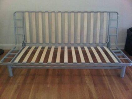 Ikea Sofa Bed Frame Askvoll Bed Frame White L 246 Nset