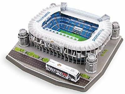 Soccer Stadium 3D Puzzle Real Madrid Santiago Bernabeu nanostad New Seald comprar usado  Enviando para Brazil