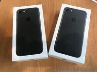 Iphone 7 black 32gb 12 month Apple waranty