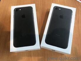 iphone 7 matte black 32gb brandnew 12 month Apple warranty