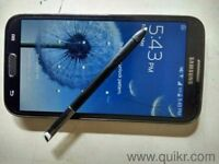 Black s2 Note with stylus just upgraded so this is for sale