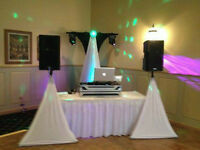 Book your DJ now and get a complimentary up-lighting package!