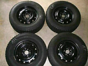 Firestone Winterforce All Season tires x4 Mounted 15in Rims NEW