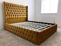 Unique & Luxury Fantastic Ambassador Majestic Bed Brand New & flat Pack Book Now