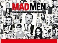 MAD MEN - Complete Blu-Ray DVD Box Set