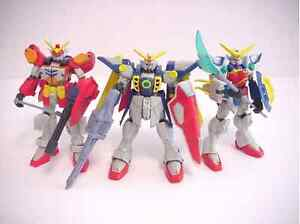 Looking for old Gundam Wing action figures