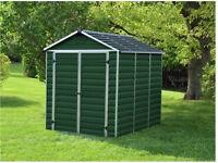 Brand new skylight 8x6 plastic shed