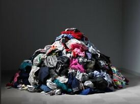 Looking for clothes and fabrics that cannot be given to charity