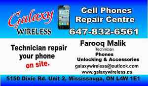 Cell phone Repairs on Spot, Unlock cell phones, Sale Accessories