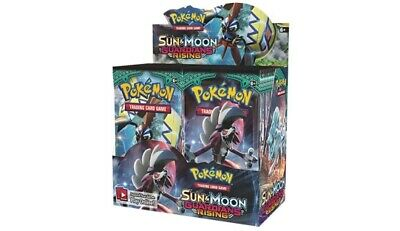 1x  Sun & Moon: Guardians Rising: Booster Box NM-Mint Sealed Product - Pokemon