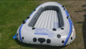 Best OFFER Intex Inflatable Boat Raft Dinghy 4 person - $130 OBO