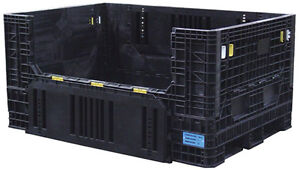 """USED 48"""" X 45"""" X 25"""" HIGH PALLET CONTAINERS. USED BULK BOXES"""