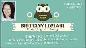 TUTORING WITH QUALIFIED OCT TEACHER Kitchener / Waterloo Kitchener Area image 1