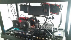 5 Video Card CryptoCurrency Mining Rig