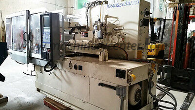 65 Ton Krauss Maffei Injection Molding Machine 98 Km 65-160 C2 Just Reduced