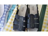 Hotter Comfort Concept Size 3 Ladies Womens Sandles Shoes As New
