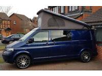 LOW MILEAGE POP-TOP Volkswagen Transporter T5 Camper Van