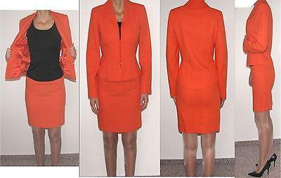 Heine Collection Business Kostüm elegant sexy figurbetont orange - Sexy Elegante Kostüm
