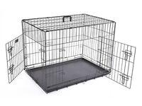 Black Medium Dog Crate