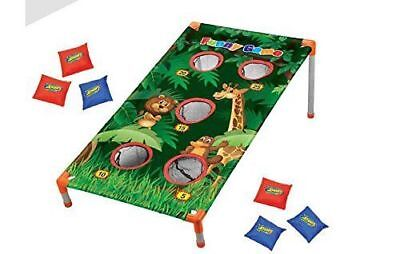 Jungle Themed Corn Hole bean Bag Toss Game Party Camp Activities  (Camp Themed Party)