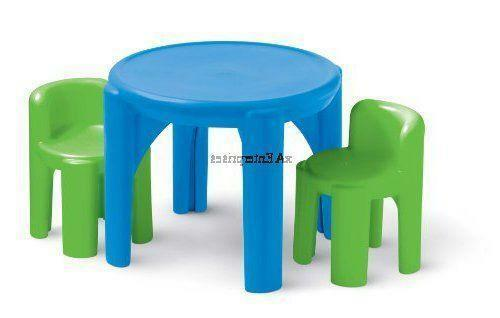 little tikes table and chair set ebay. Black Bedroom Furniture Sets. Home Design Ideas