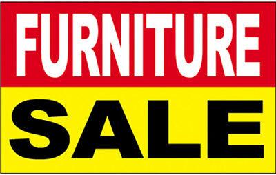 Furniture Sale - Vinyl Banner 2x3 Ft Sign New - Ryb