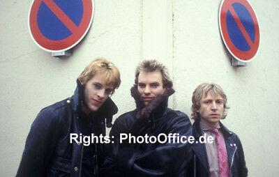 The Police, Sting in Deutschland, seltenes 30x45cm Konzert Foto Poster