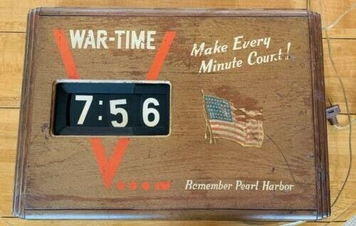Clock - Gottlieb Telemeter WWII Pearl Harbor V..._