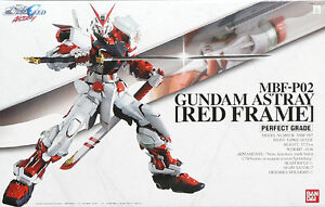 Gundam Seed 1/60 PG Astray Red Frame Perfect Grade Bandai Model Kit