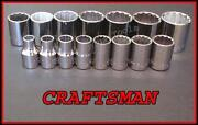 Craftsman Large Sockets