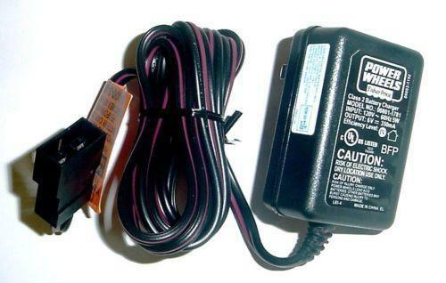 power wheels 6 volt battery charger ebay. Black Bedroom Furniture Sets. Home Design Ideas