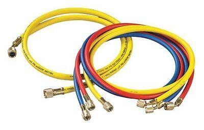 Yellow Jacket 21990 4-pack 60 Charging Hose Ryb - Standard 14 38 Bba