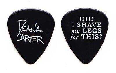 Deana Carter Black Signature Guitar Pick - 1996 Tour ()
