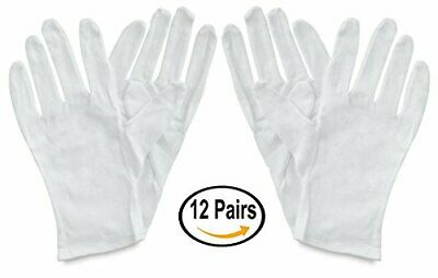 Framer Supply White Cotton Gloves Large 12 Pairs