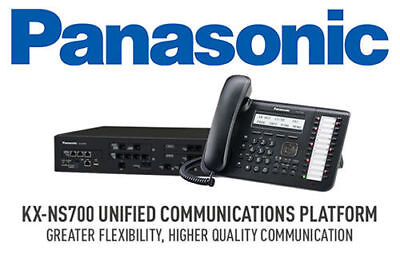 Panasonic Kx-ns700 Hybrid Pbx Unified Communications Platform - 2 Year Warranty
