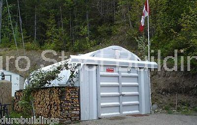 Durospan Steel 10x21x8 Metal Building Kit Back Yard Storage Factory Direct