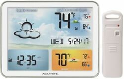 OpenBox AcuRite 02081 Home Weather Station with Jumbo Display & Atomic Clock