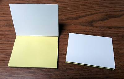 Lot Of 20 Pieces - Yellow Sticky Note Pad 50 Sheetspad