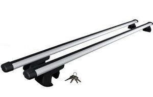 "BRAND NEW!!! ALUMINUM 53 "" ROOF TOP RAIL RACK CROSS BARS !!! NEW"