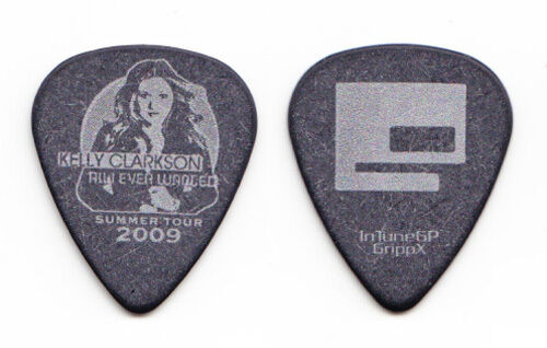 Kelly Clarkson Einar Pedersen Bass Guitar Pick - 2009 All I Ever Wanted Tour
